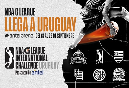 More Info for NBA G LEAGUE INTERNATIONAL CHALLENGE