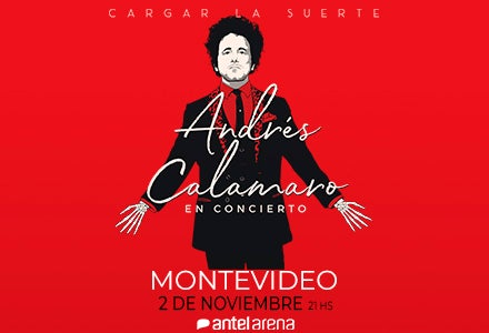 More Info for Andrés Calamaro | Cargar la suerte