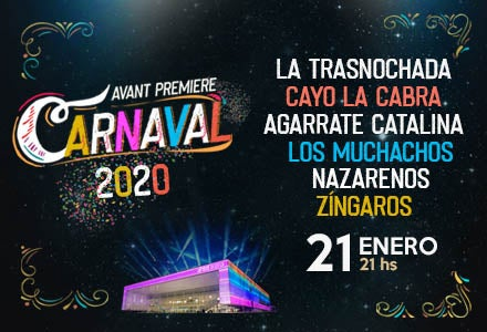 More Info for Carnaval 2020 | Avant Premiere
