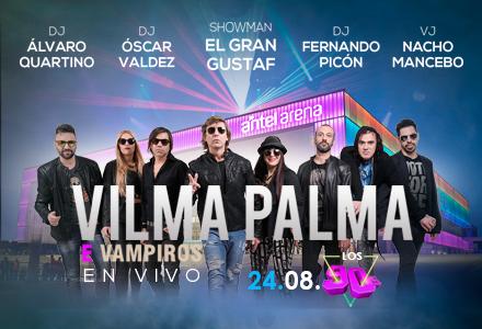 More Info for 24 de Agosto - Los '90 Vilma Palma e Vampiros En VIVO.