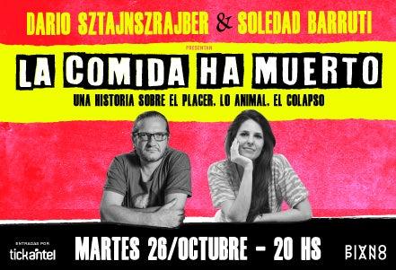 More Info for Dario Sztajnszrajber y Soledad Barruti